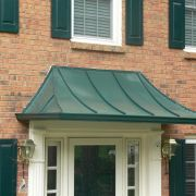Freestanding Canopies with built-in Gutters