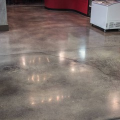 Suwanee Sports Academy Cafe Flooring After